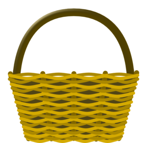 Picnic Basket clip art - vector clip art online, royalty free ...