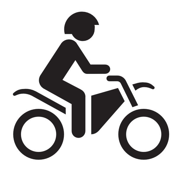 Motorcycle Icon Clip Art at Clker.com - vector clip art ...
