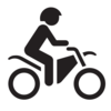 Motorcycle Icon Clip Art
