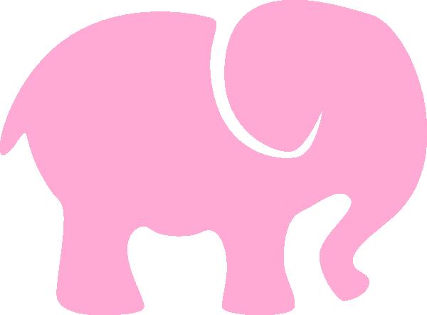 clip art pink elephant - photo #22