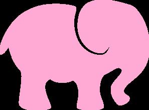 baby pink elephant clip art at clker com vector clip art Baby Lion Clip Art Baby Animal Clip Art