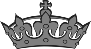 Grey Crown Clip Art