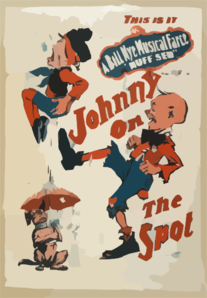 This Is It, Johnny On The Spot A Bill Nye Musical Farce,  Nuff Sed . Clip Art