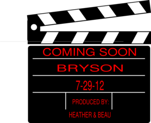 Bryson Coming Soon Clip Art