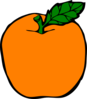 Orange Apple Clip Art