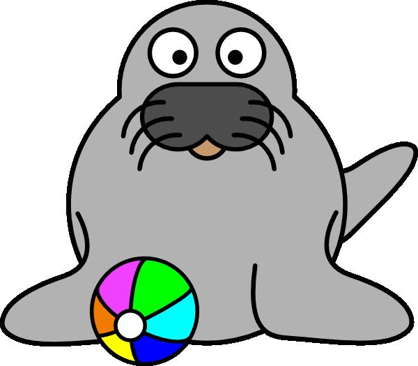 Seal Clip Art at Clker.com - vector clip art online, royalty free ...