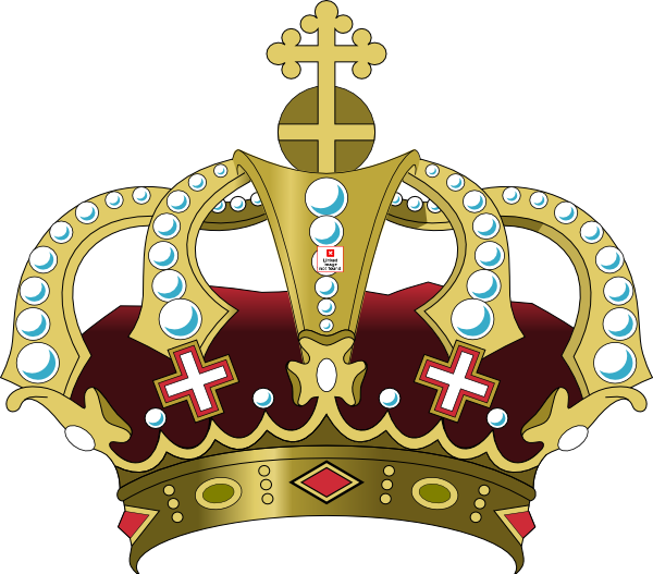 free vector clipart crown - photo #16