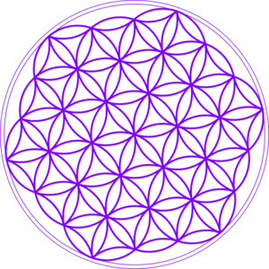 Flower Of Life Purple Clip Art
