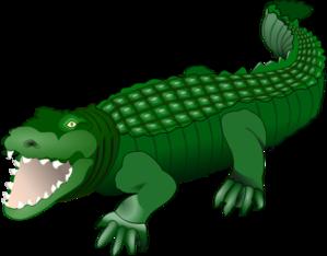 croc clip art at clker com vector clip art online royalty free rh clker com clip art crocodile free clip art crocodile animated