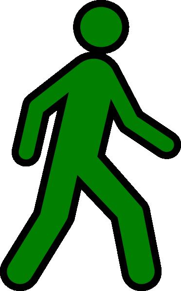 Walking Man Yellow Clip Art at Clker.com - vector clip art ...