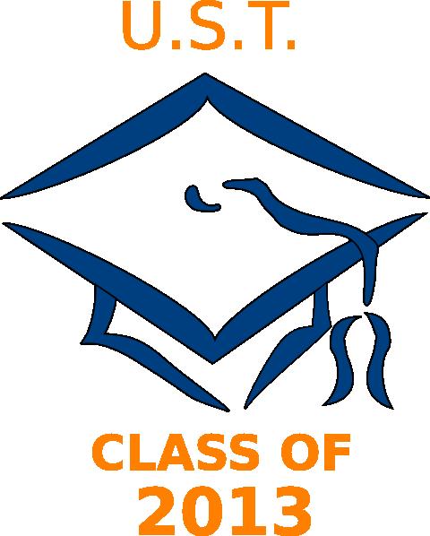 ust class of 2013 graduation cap clip art at clker com vector clip rh clker com