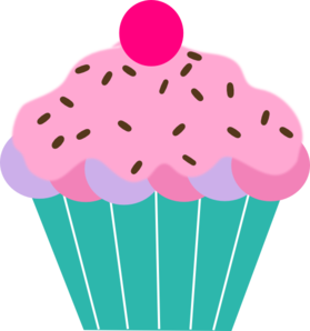 Pink Cupcake Clip Art at Clkercom vector clip art online