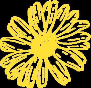 Yellow Gold Gerbera Daisy Clip Art at Clker.com - vector clip art ...