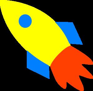 rocket ship yellow clip art at clker com vector clip art online rh clker com free rocket ship clipart rocket ship clipart outline
