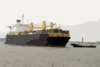 The Maritime Prepositing Ship Mv 1st Lt. Jack Lummus (t-ak 3011) Pulls Into Pyongtaek Port, South Korea. Clip Art