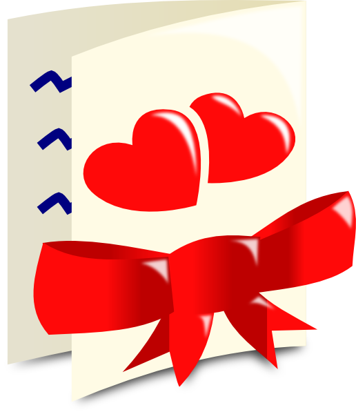 Valentine Card Clip Art at Clker.com - vector clip art ...