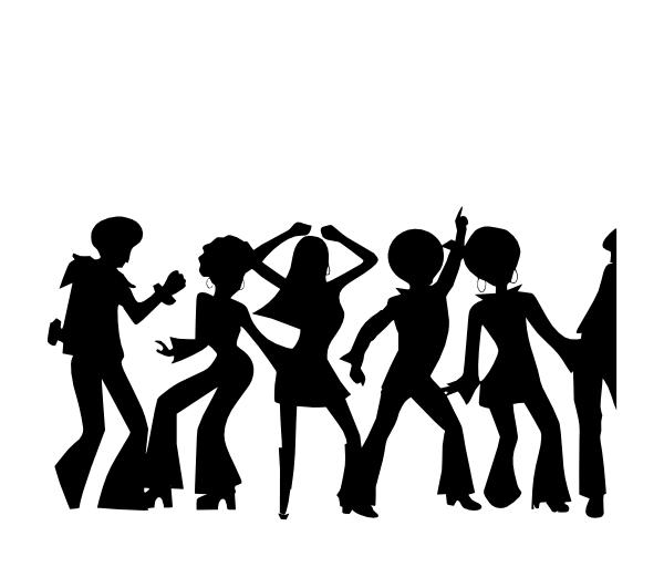 disco shadow clip art at clker com vector clip art online royalty rh clker com Dance Clip Art Dancer Clip Art