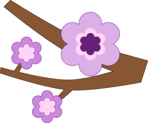 Purple Flower 16 Clip Art