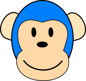 Blue Monkey Designs Clip Art