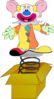 Jack In The Box Clown Clip Art