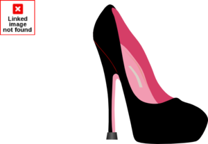 Pink Stiletto Clip Art