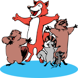 Singing Animals Clip Art