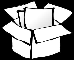 box outline clip art at clker com vector clip art online royalty rh clker com box clipart panda box clip art free download