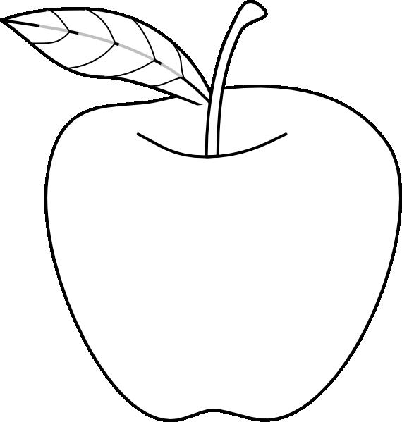 Apple Drawing Clip Art At Vector Clip Art