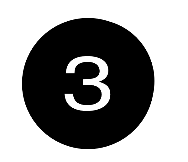 Number Three Clip Art At Clker Com