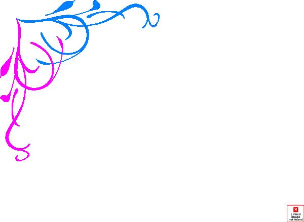 Blue Pink Border New Clip Art at Clker.com - vector clip ...