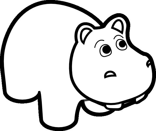 free clip art hippo cartoon - photo #44