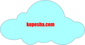 Cloud1 Clip Art
