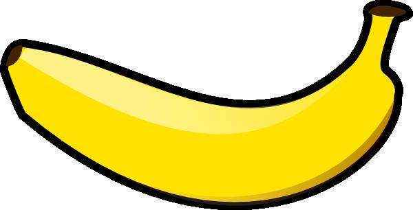 horizontal banana clip art at clker com vector clip art online rh clker com banana clipart free banana tree clipart images