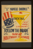Try A Yankee Doodle Cocktail - New! Novel! Different! -  Follow The Parade  Now At Hollywood Playhouse. Clip Art