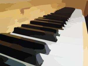 Piano Keys Clip Art at Clker.com - vector clip art online ...