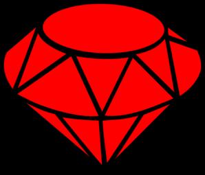 Ruby Simple Clip Art at Clker.com - vector clip art online ...