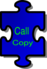 Call Copy` Clip Art