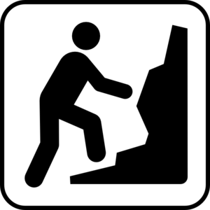Technical Climbing Clip Art