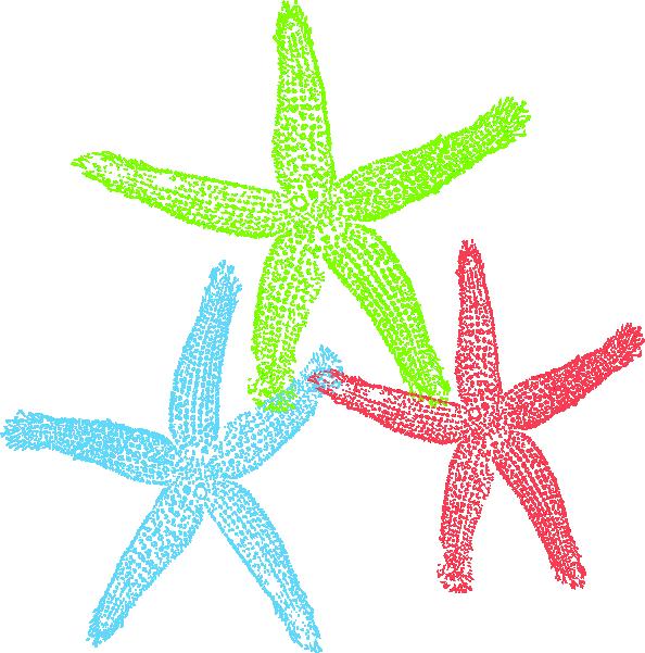 Starfish clip art - vector clip art online, royalty free & public ...