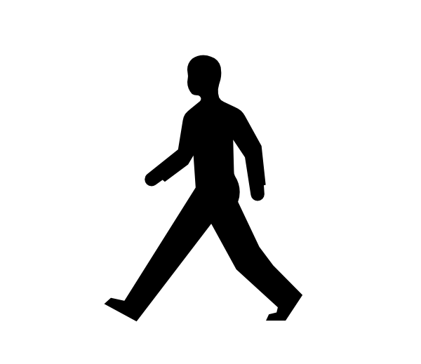 male body walking clip art at clker com vector clip art online rh clker com walking clip art free walking clip art images