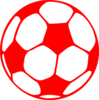 Red Football Clip Art