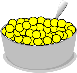 bowl of yellow cereal clip art at clker com vector clip art online rh clker com