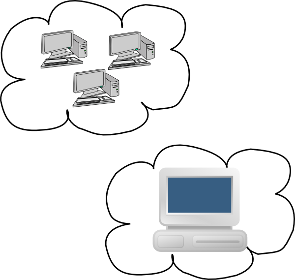 Cloud Computing Competition Clip Art at Clker.com - vector ...