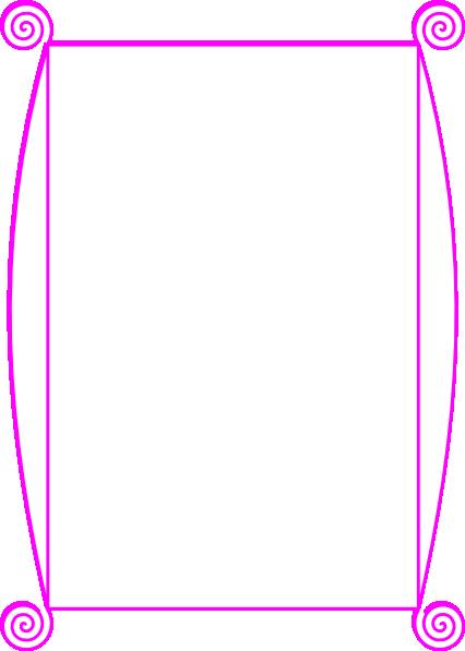 pink border clip art at clker com vector clip art online royalty rh clker com