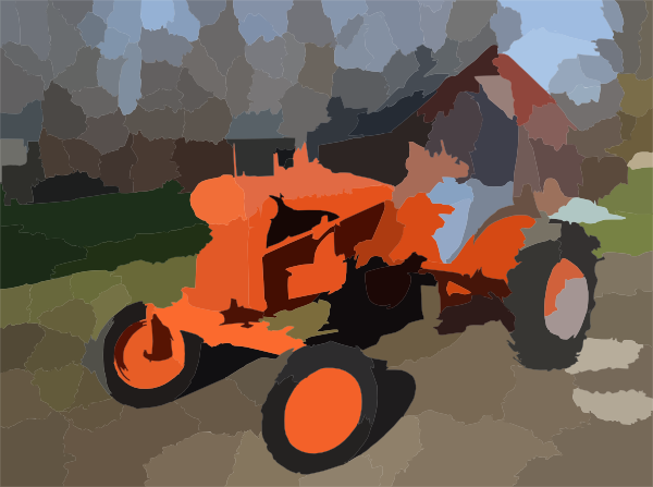 Allis Chalmers Tractor Clip Art : Me on tractor first day home dsc clip art at clker