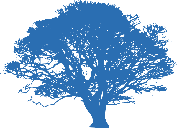 free oak tree clip art. Blue Oak Tree