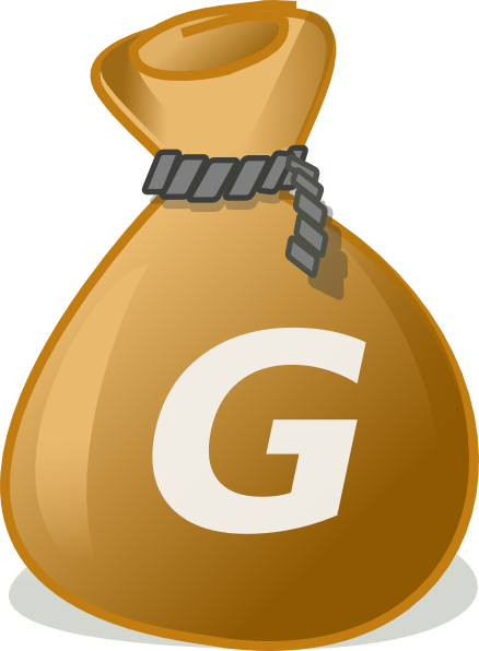 Money Bag2 Clip Art at Clker.com - vector clip art online ...