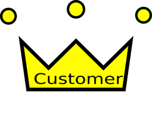 Glock Crown - Customer Is The King Clip Art