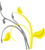 Yellow Branch Clip Art