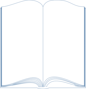 Book Template Word Clip Art  Book Template Word